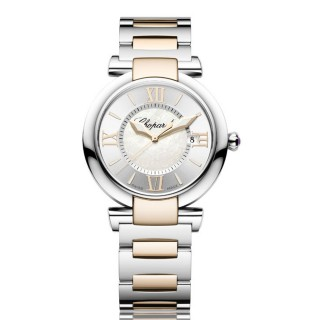 Chopard Watches - Imperiale Quartz 36mm Steel and Gold
